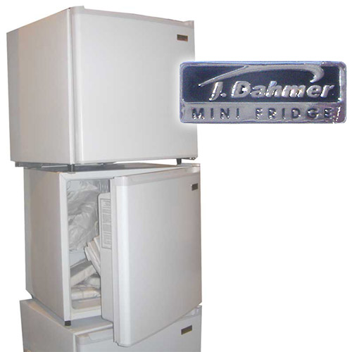 Jeffrey Dahmer Fridge J. dahmer mini-fridges, 2006,